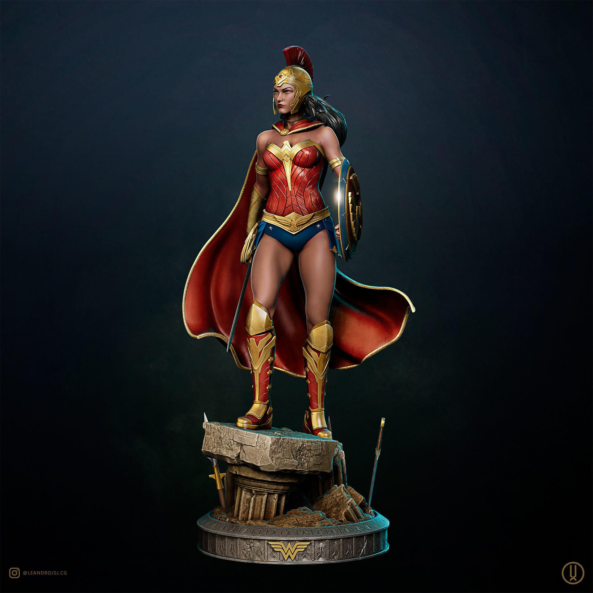 Warrior Wonder Woman