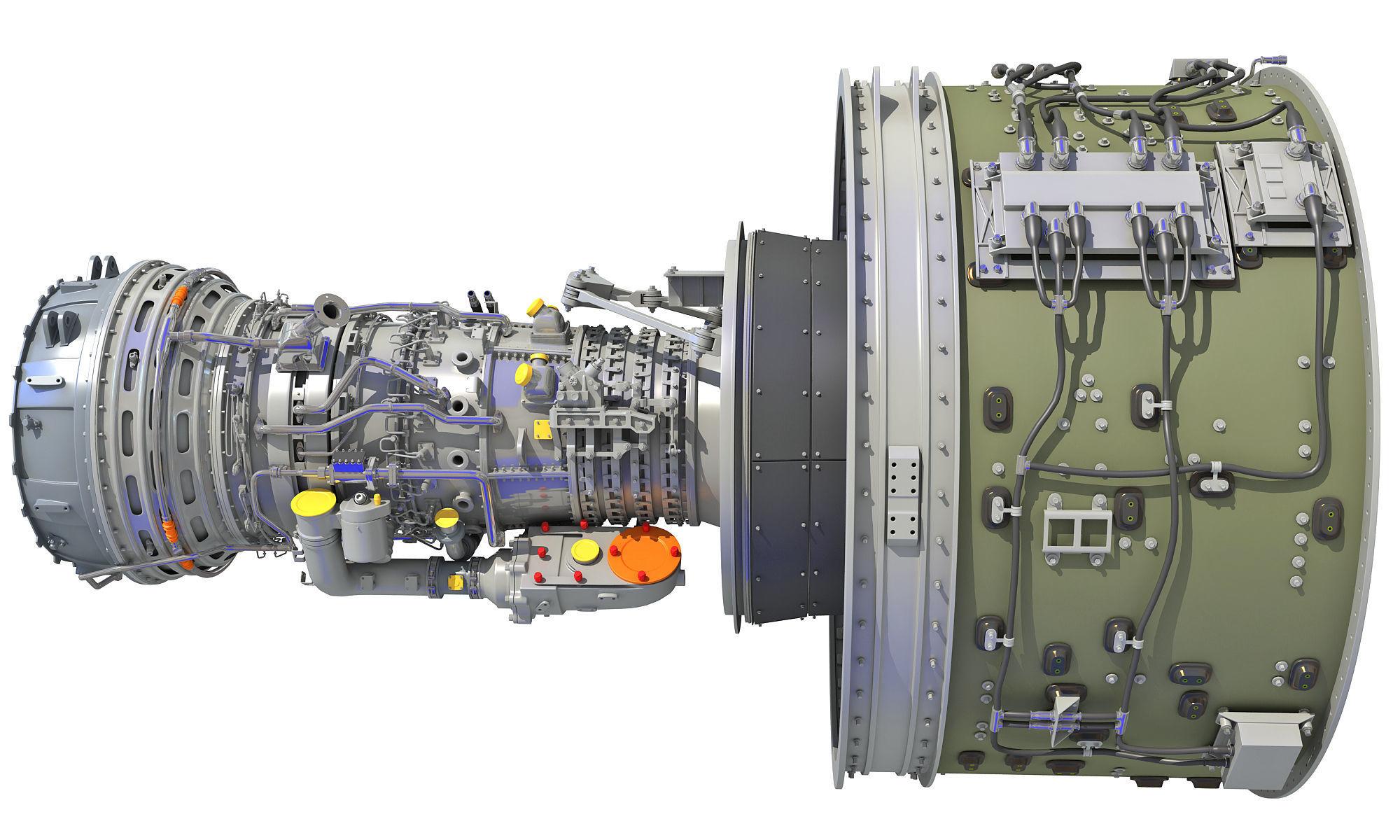 GTF Geared Turbofan Engine