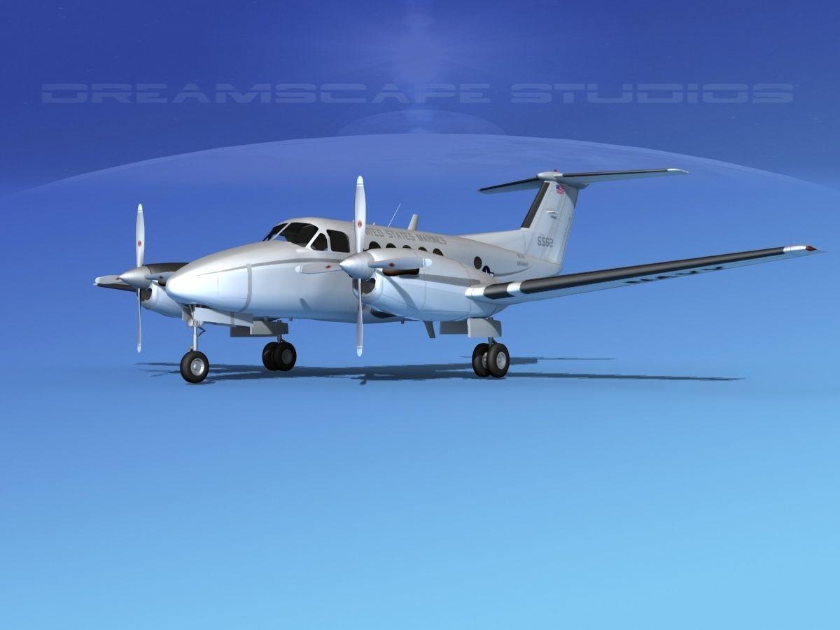 Beechcraft UC-12Q Huron V07 USMC