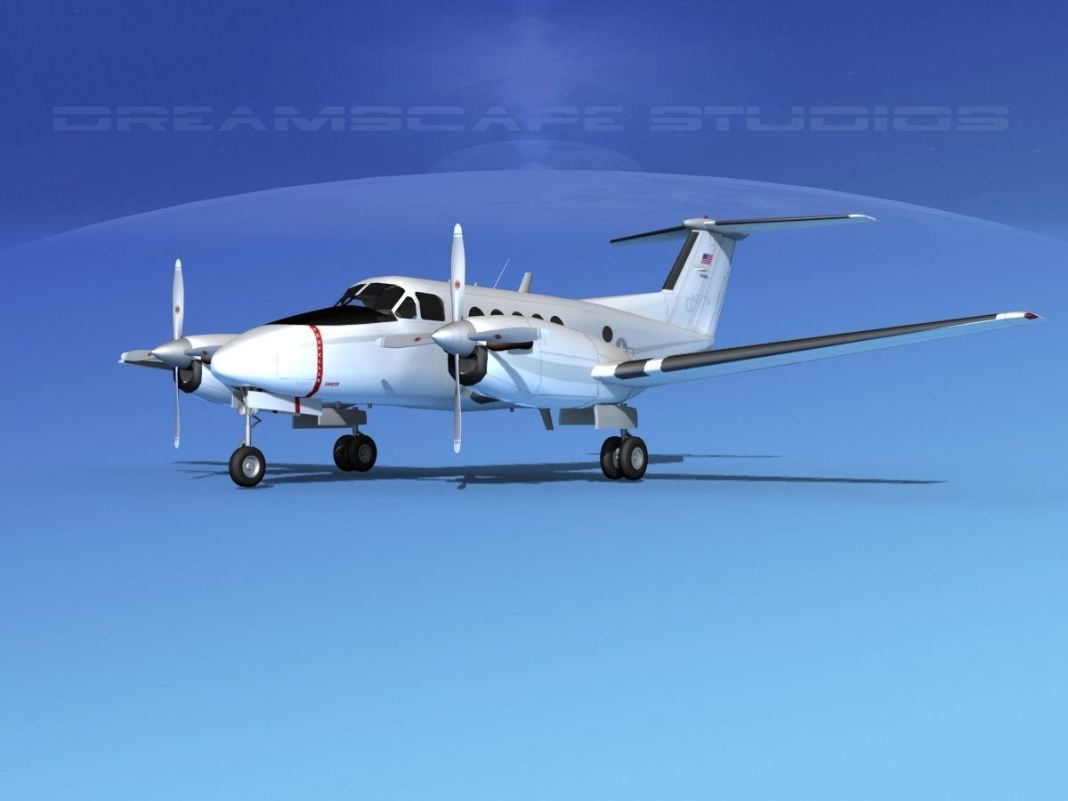 Beechcraft UC-12Q Huron V12 US GOV