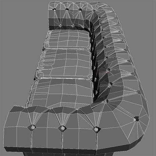 leather sofa relotti armando 3d model max obj 3ds fbx mtl 5