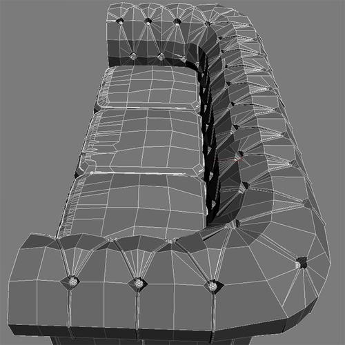 leather sofa relotti armando 3d model max obj 3ds fbx 5