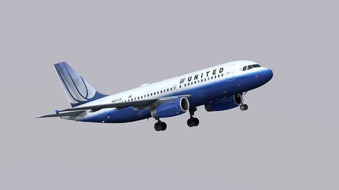 airbus-a319-united-airlines-3d-model-low