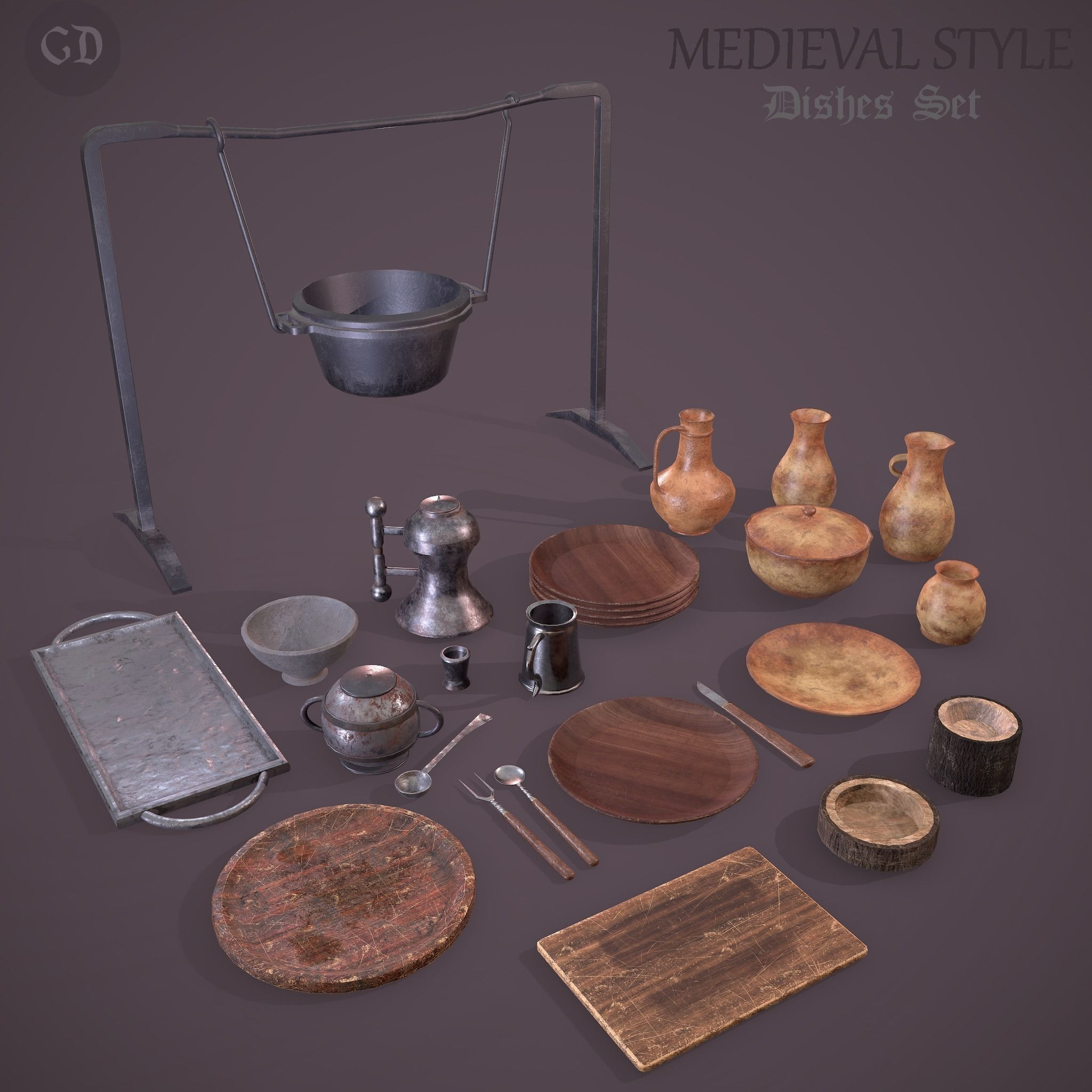 Medieval Dishes