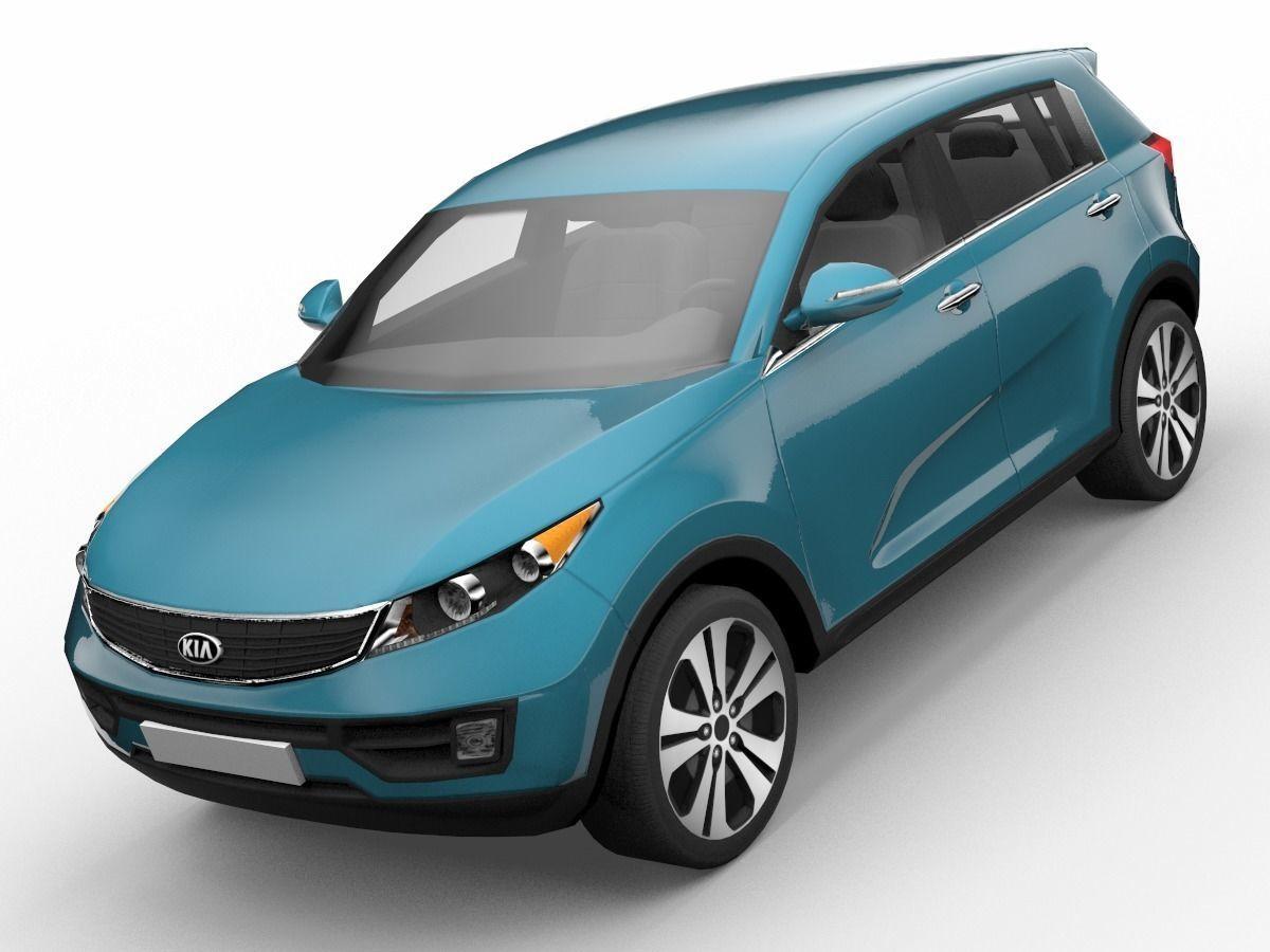 KIA Sportage SUV 3D Model