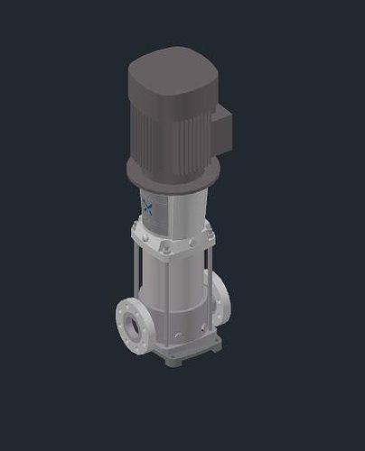 Summary -> Grundfos Pump 3d Model 3d Cad Browser
