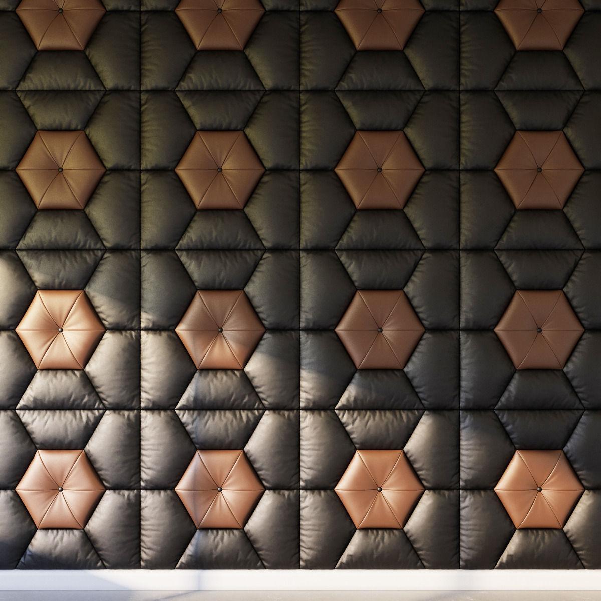 Decorative Wall Pattern Panel 3d Model Max Obj Fbx Mtl 1 ...