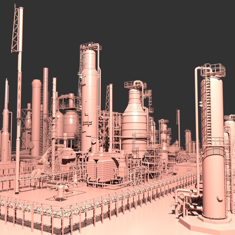 Mega Oil Refinery