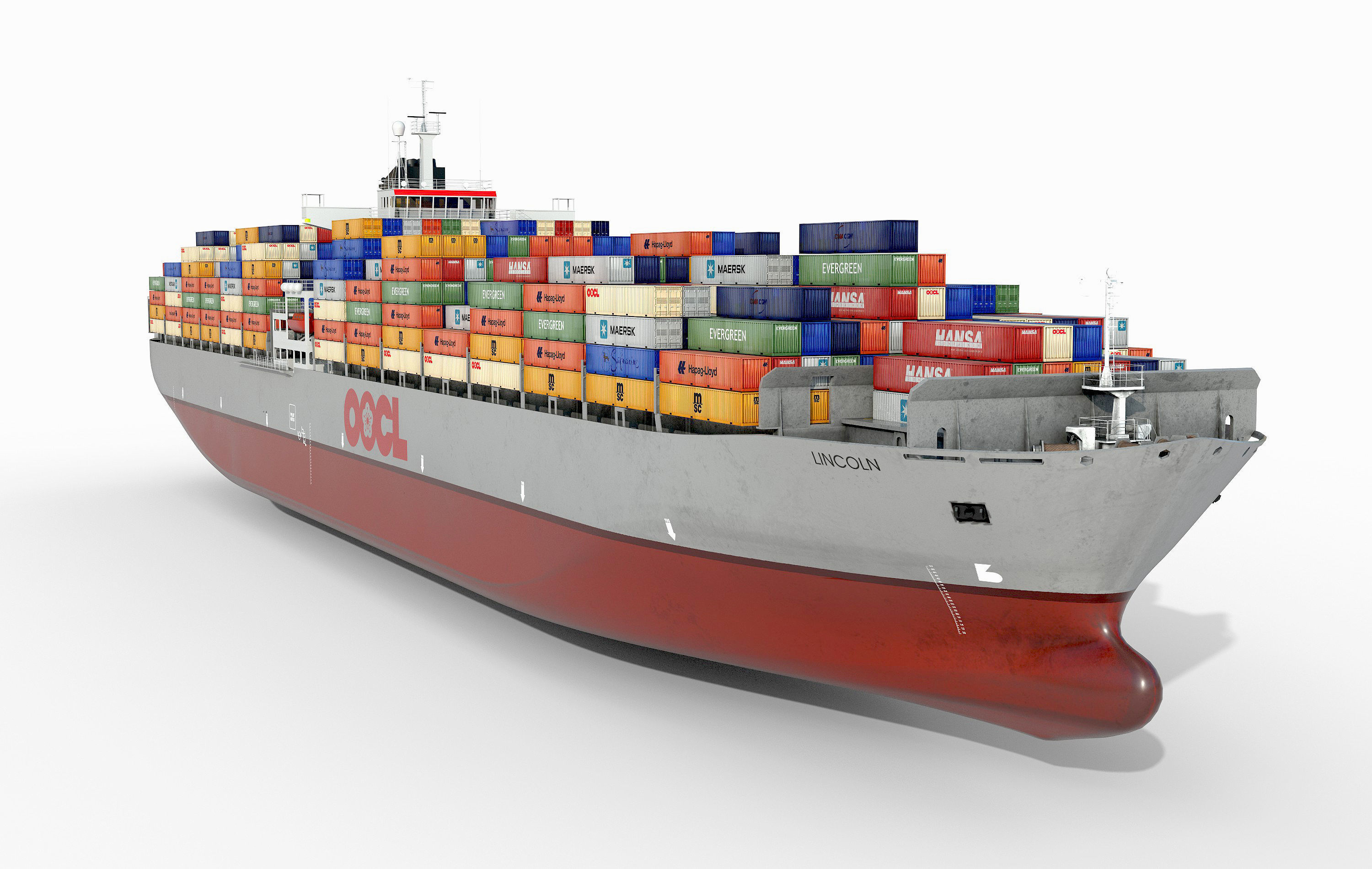 Container ship OOCL