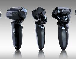 3d model panasonic shaver
