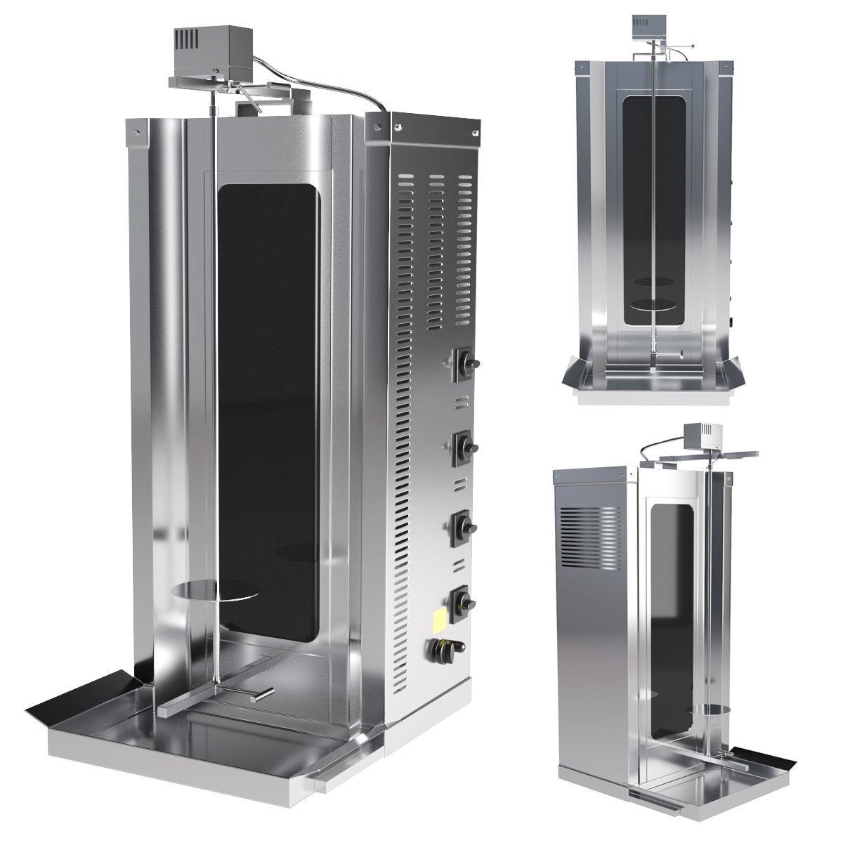 Ankemoller ED50P shawarma machine