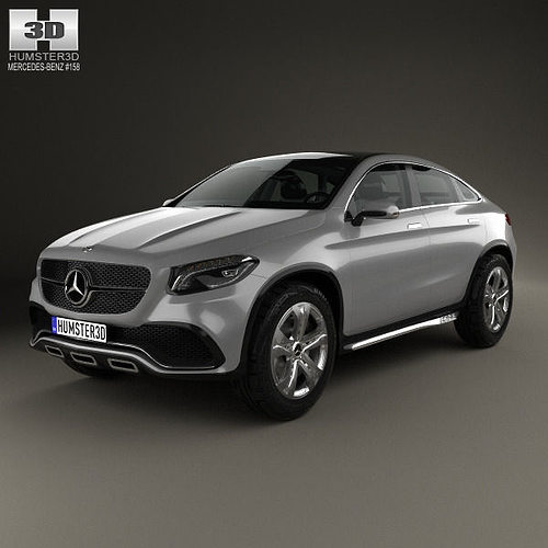 Mercedes benz coupe suv 2014 3d cgtrader for 2014 mercedes benz models