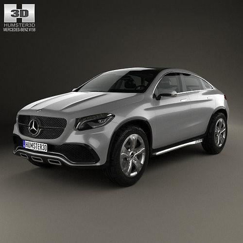Mercedes-Benz Coupe SUV 2014 3D
