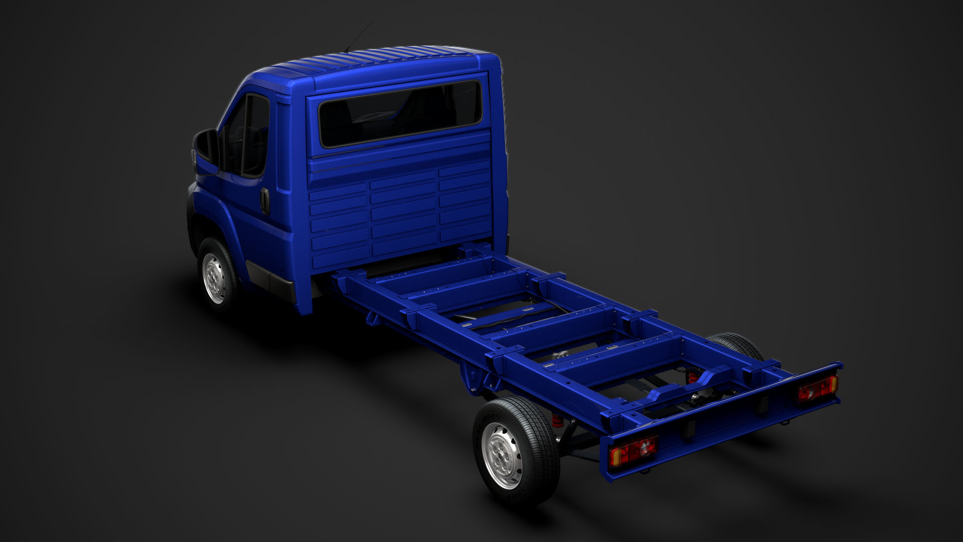 Fiat Ducato Chassis Truck Single Cab 4035WB 2014