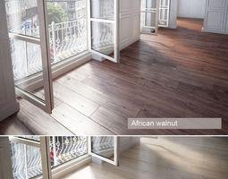 Wooden floor cherry 3D