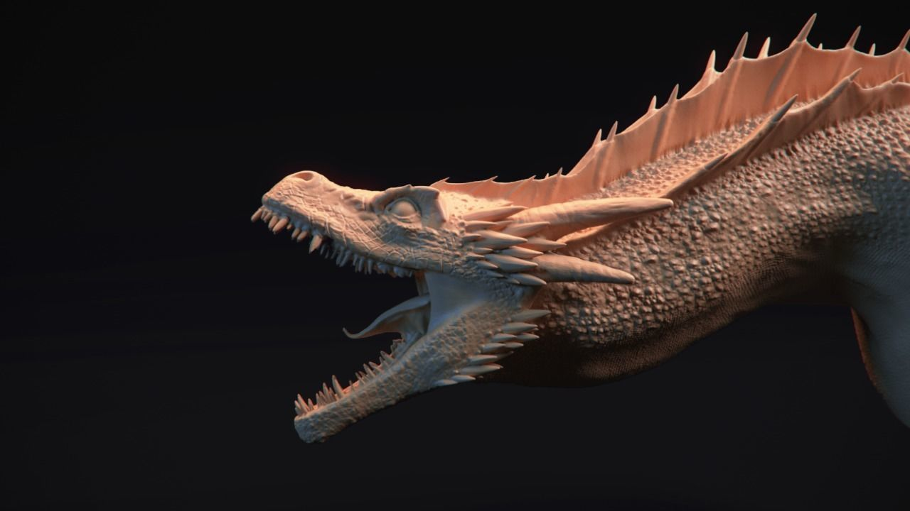 Dragon Bust - Game of Thrones - Drogon -