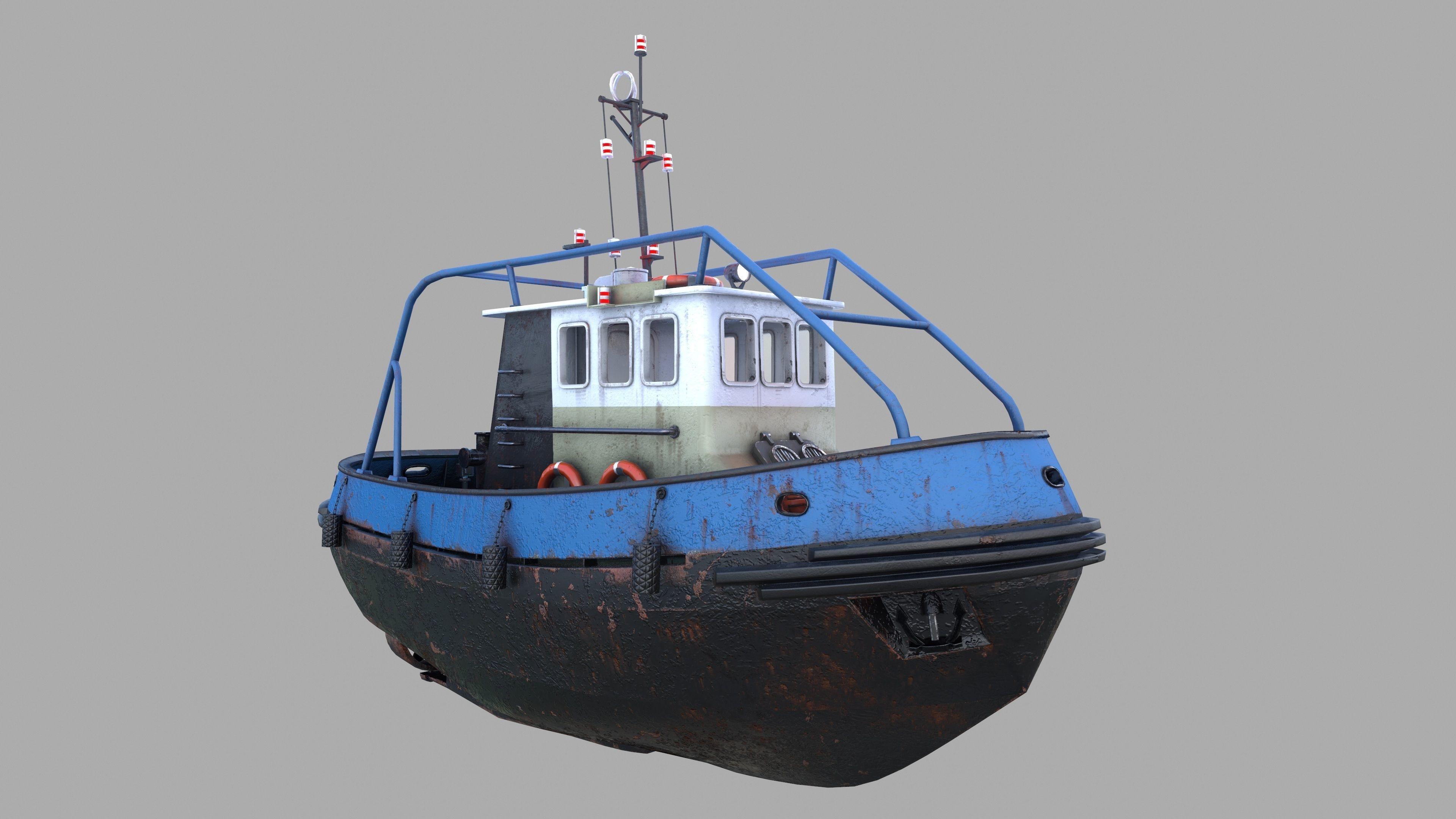 Tugboat Emilka