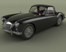 3D model MG MGA Coupe
