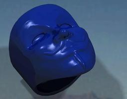 3d print model anonymous ring