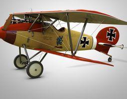 3d fighter aircraft albatros