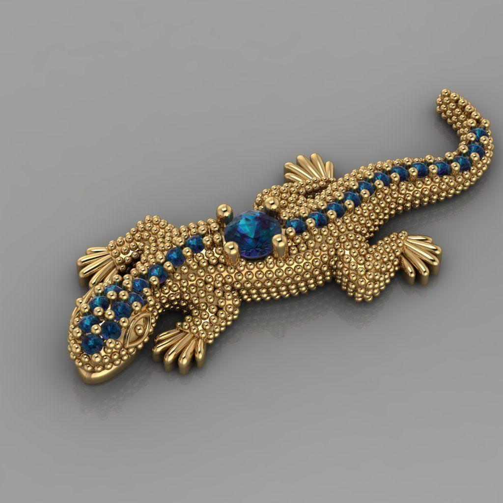 Lizard Jewelry Diamond