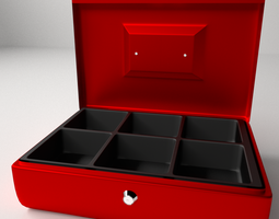 3D Petty Cash Box