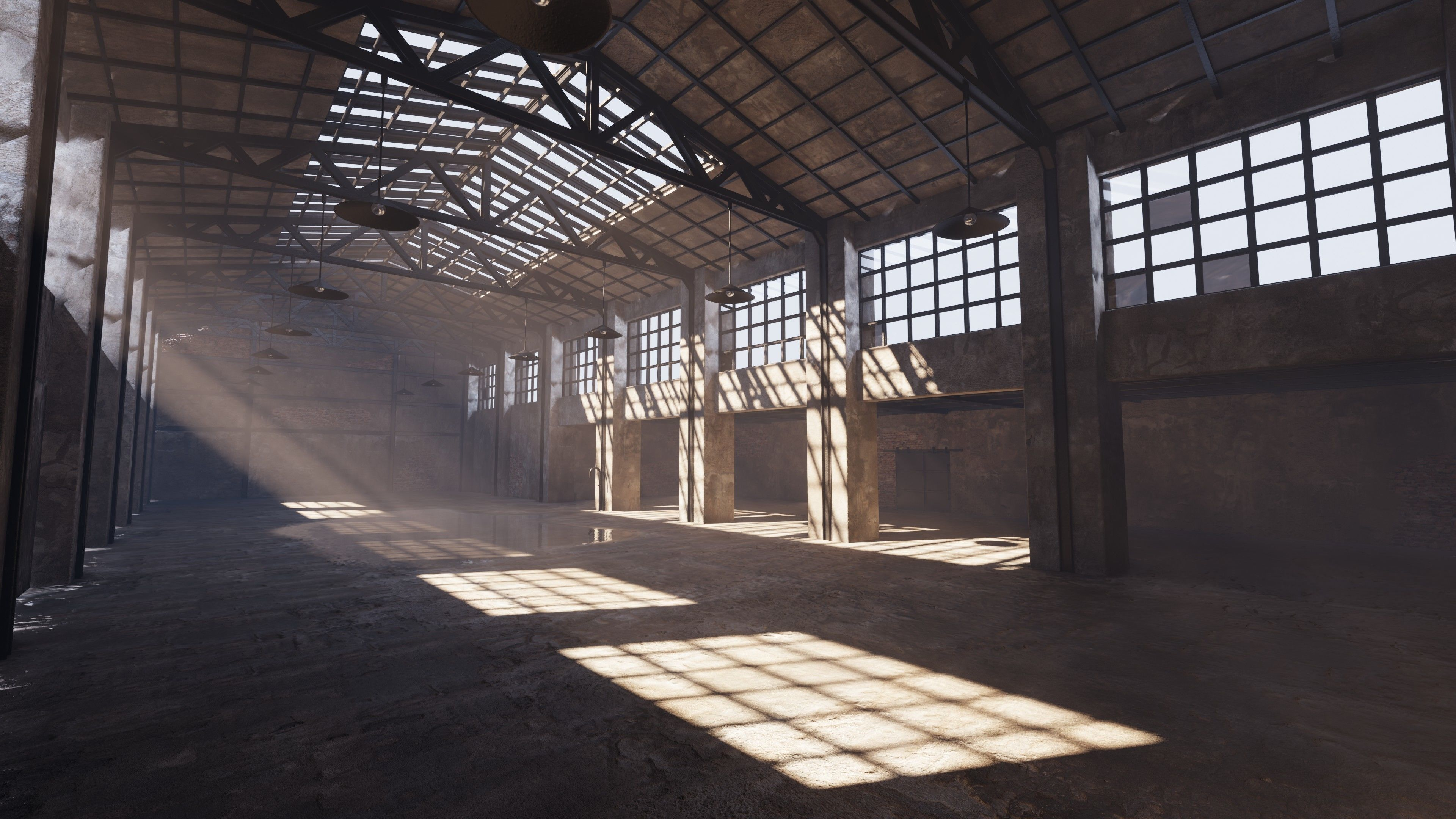 SHC Old Factory hall