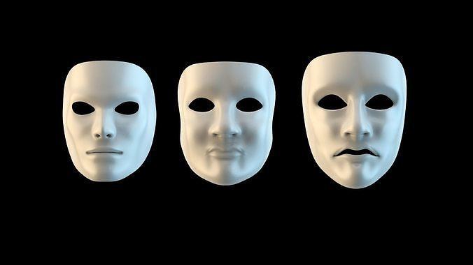 Scare masks