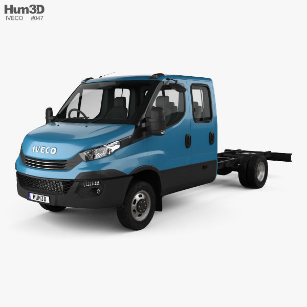 Iveco Daily Dual Cab Chassis 2017