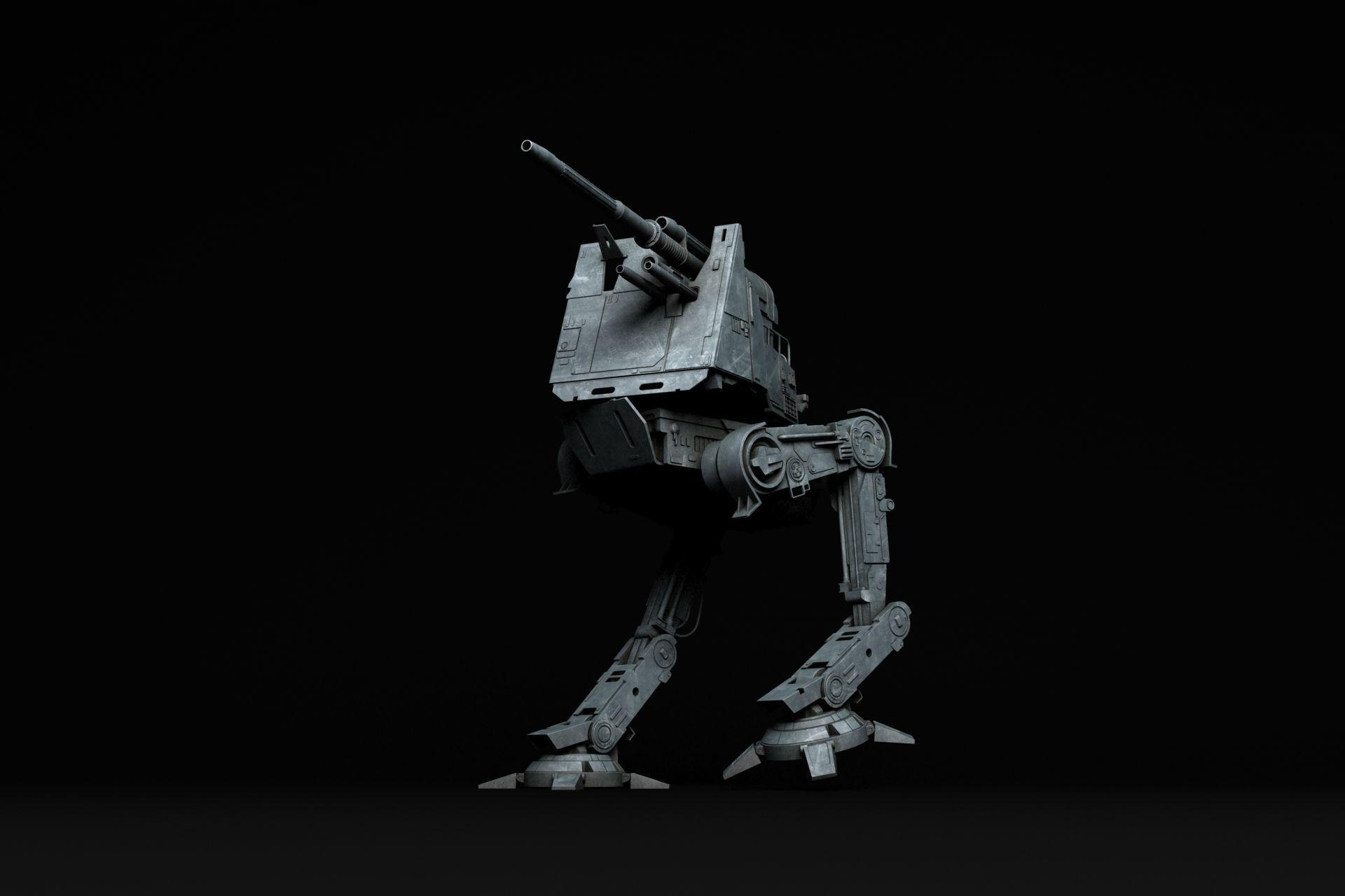 Star Wars All Terrain Defense Turret AT-DT