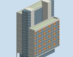 city planning office building fashion design  239 3d model max