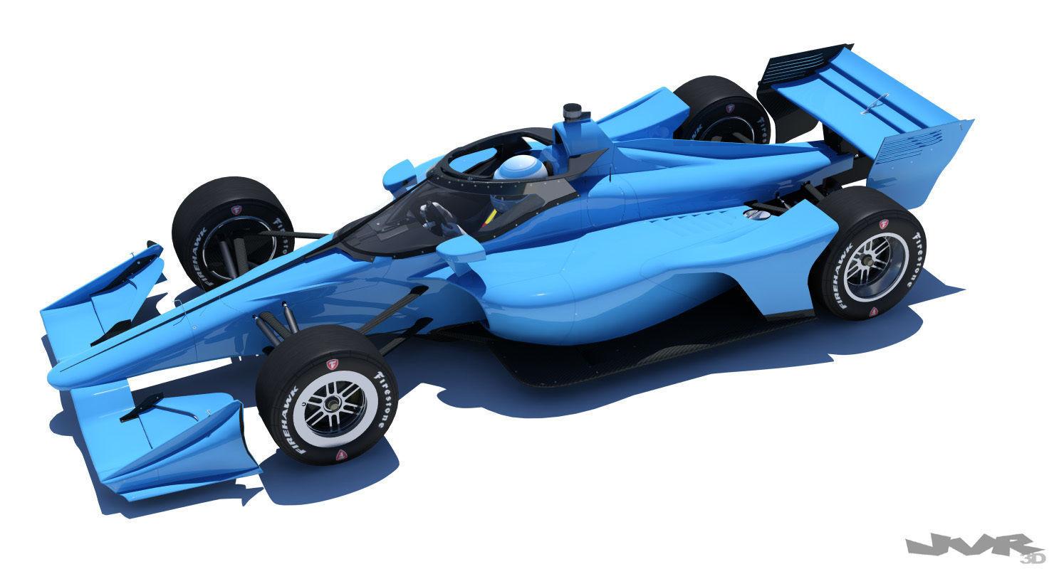 Indycar 2020 - Road version