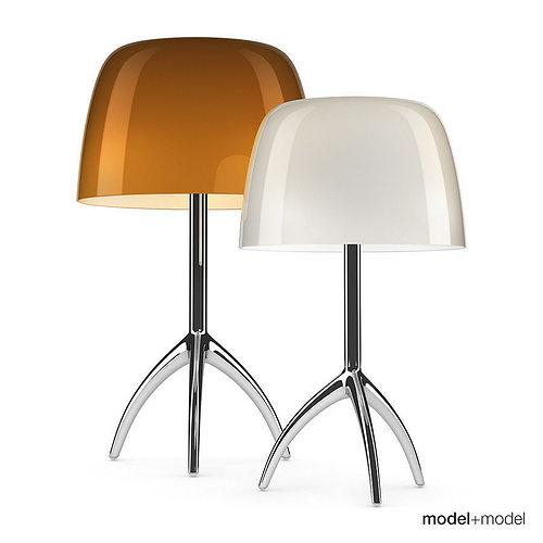 3d foscarini lumiere table lamp cgtrader - Foscarini lumiere table lamp ...