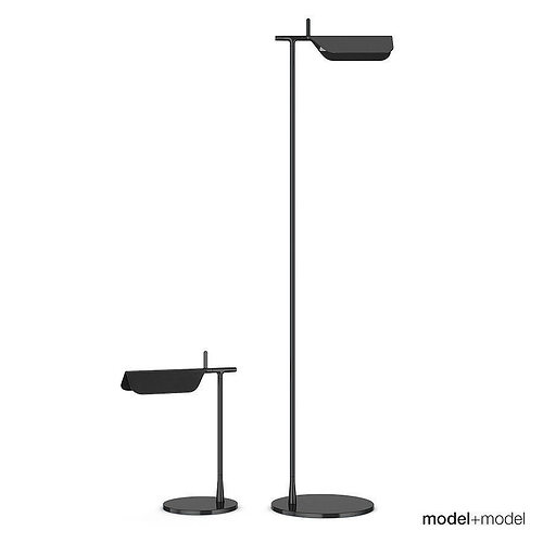 Flos Tab Floor And Table Lamps 3D Model
