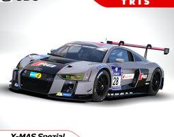 Audi R8 LMS 2016 - 3ds 3D Model