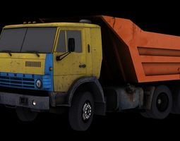 3D model Kamaz 5511