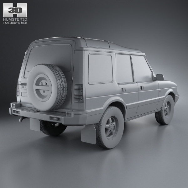 Land Rover Discovery 1 3 Door For Sale: Land Rover Discovery 5-door 1989 3D Model MAX OBJ 3DS FBX