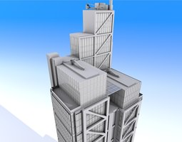 3D Heron Tower - London