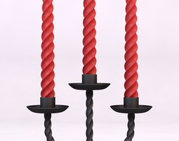 Candle holder 3D