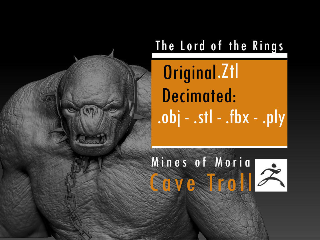 Cave Troll - The Lord of the Rings