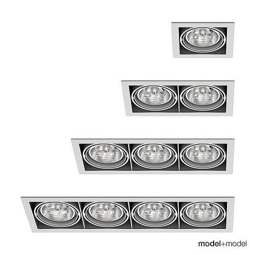 deltalight grid in spotlights 3d model rigged max obj mtl fbx mat 1