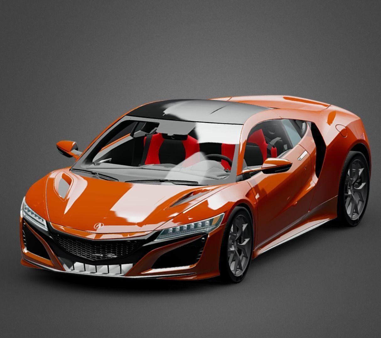 3D Model Acura NSX