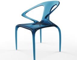 roche bobois ava chair 3d model