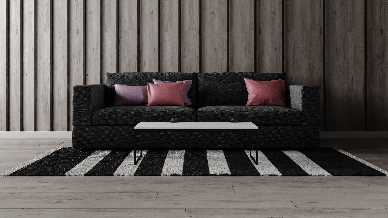 Sofa Set - Home Furniture 07 3D model MAX OBJ FBX
