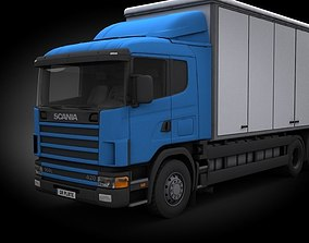 Scania 3D model low-poly