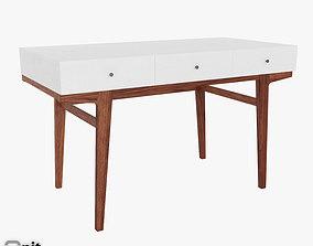 3D model Modern desk by West Elm