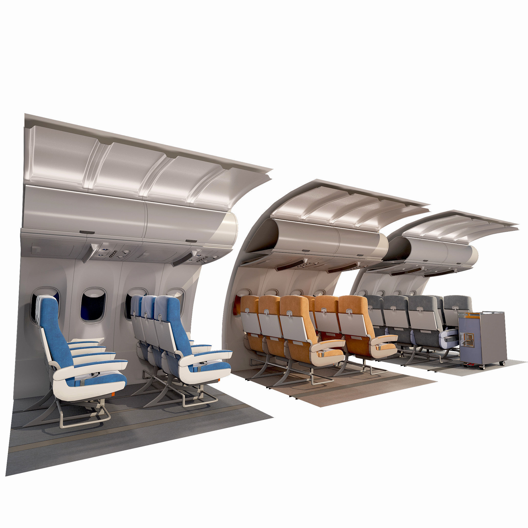 collection airplane chair 3 colors