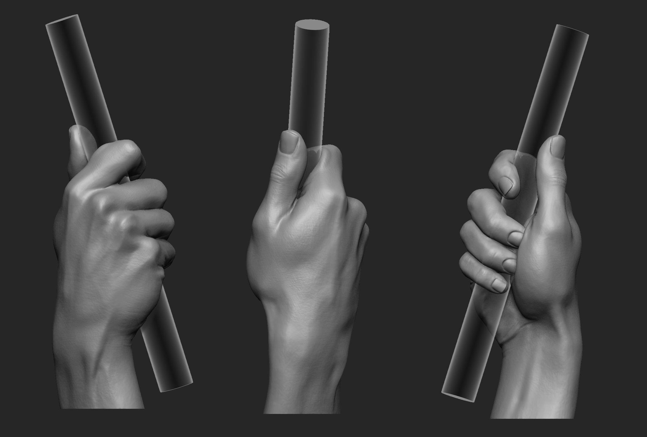 Male Hand Pose 7