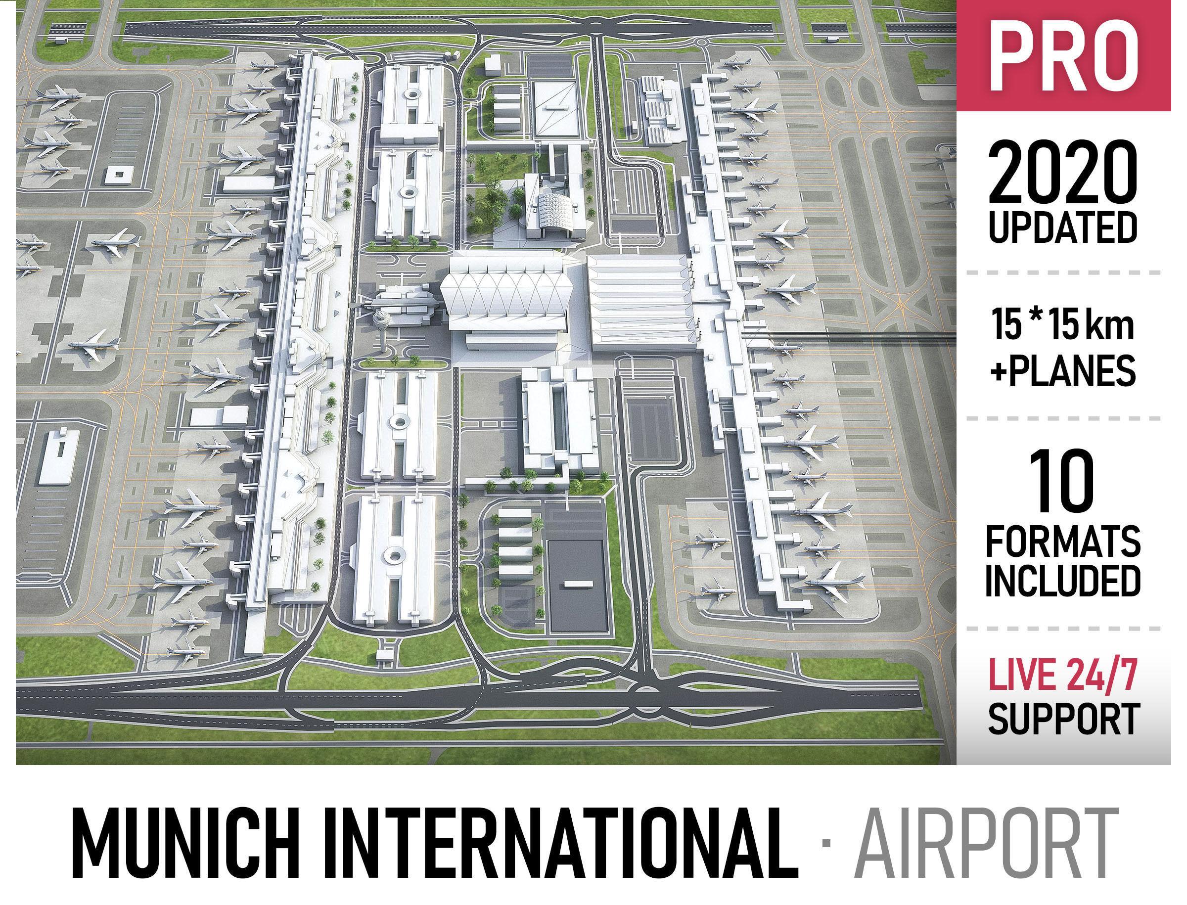 Munich International Airport - MUC