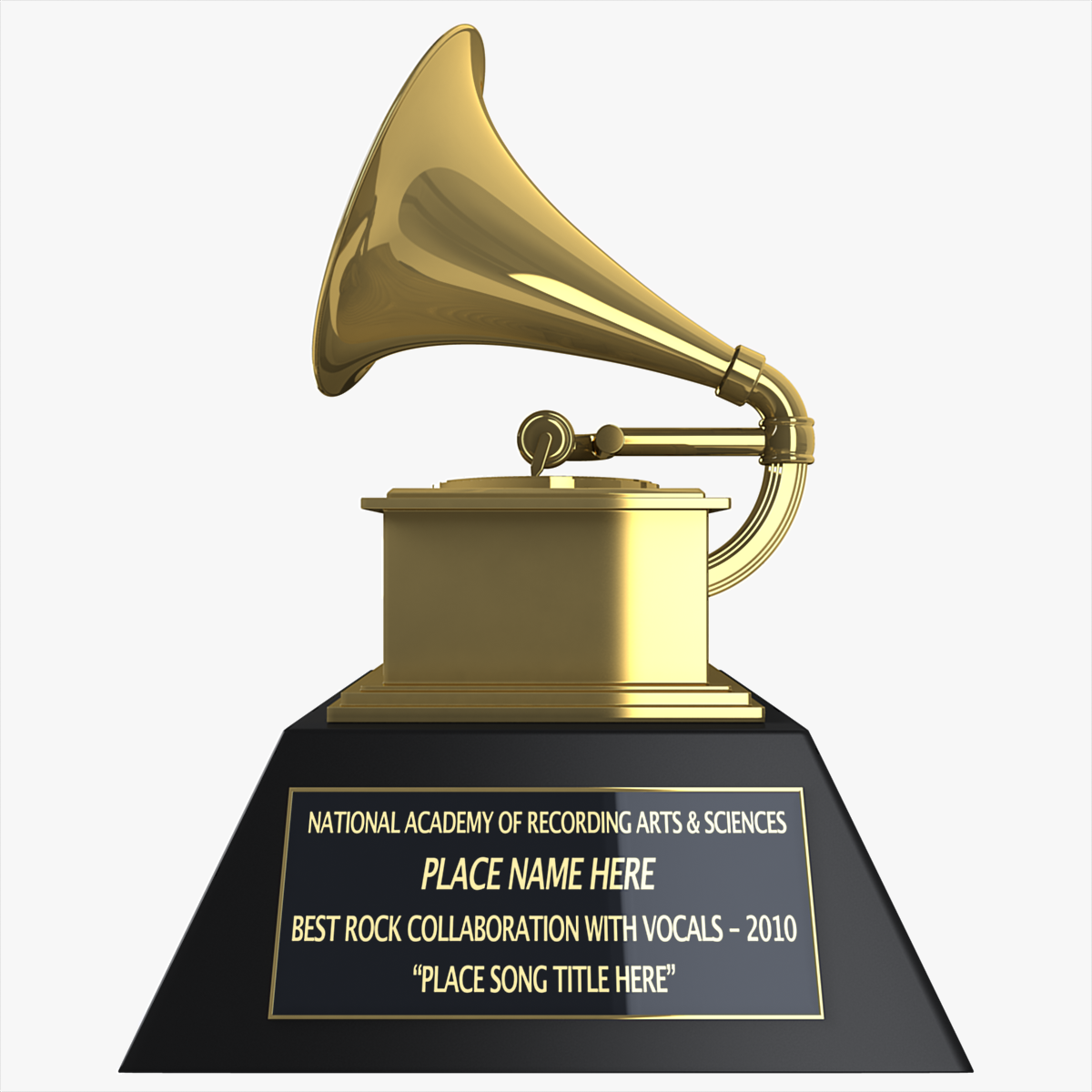 Grammy Award 3D model | CGTrader
